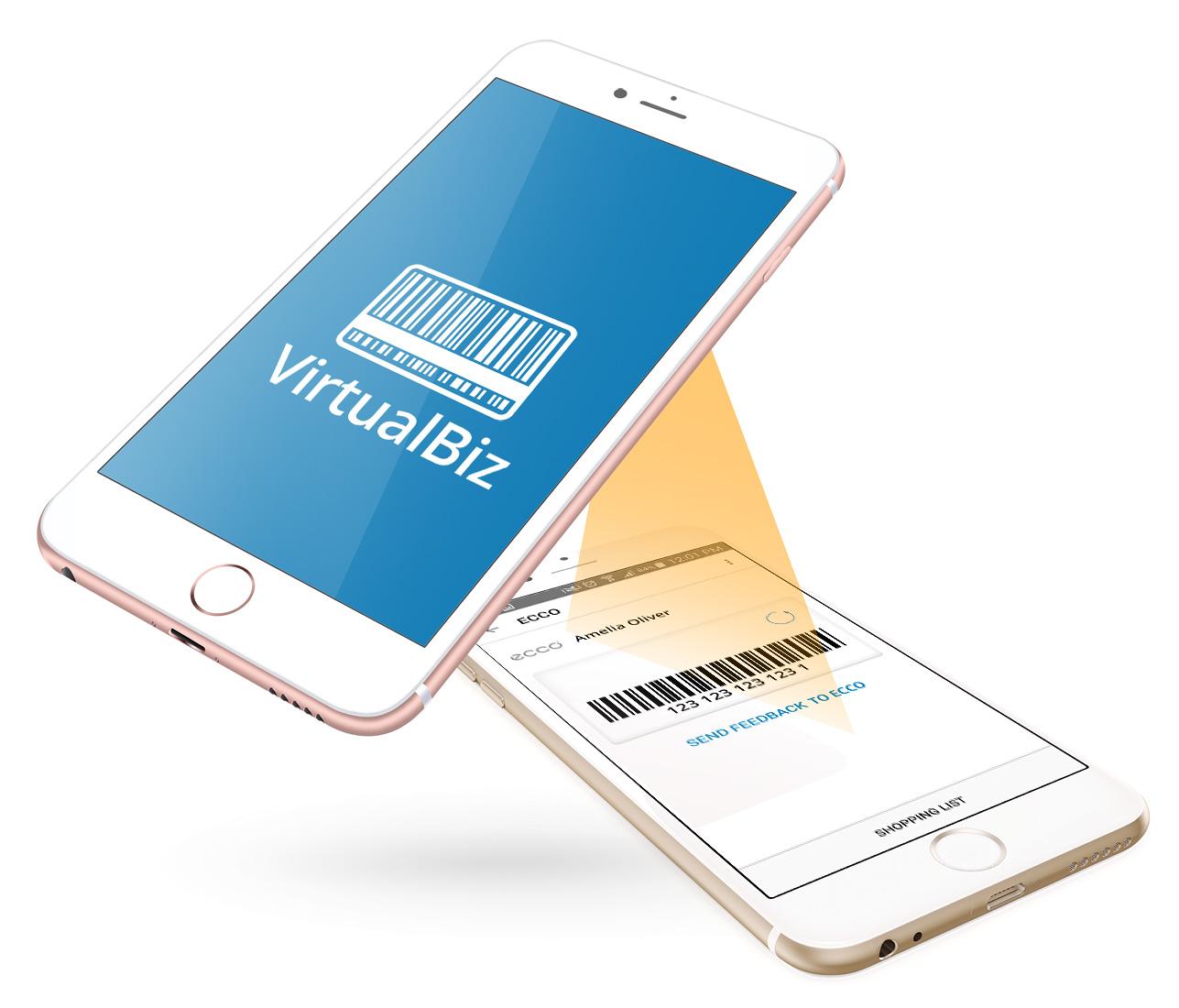 Card-scanning app